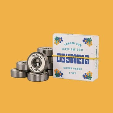 Olympia Supply Earth Day Silver Grade Bearings