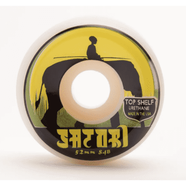Satori Wheels - Satori Elephant Top Shelf Urethane 84b Wheels 52mm