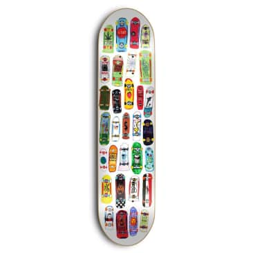 Skate Mental Koston Board Collage 8.25 & 8.5