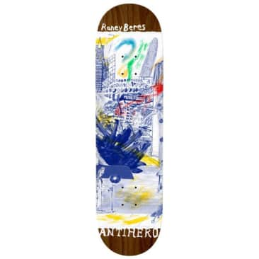 "Anti Hero Skateboards Raney Beres SF ""Then And Now"" Skateboard Deck - 8.12"
