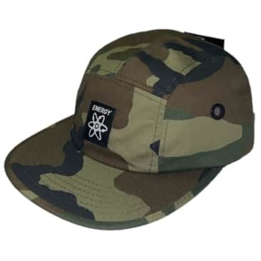 Energy Skate Shop OG Logo 5-Panel Hat (Camo)