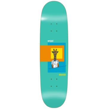 "Enjoi Skateboards - 8.375"" Deedz Skart Didrik ""Deedz"" Galasso Pro Shaped Deck"