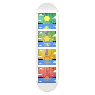 Real Mason Silva Sunset Skateboard Deck - 8.06""