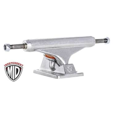 Independent Mid Truck - polished silver set (159)