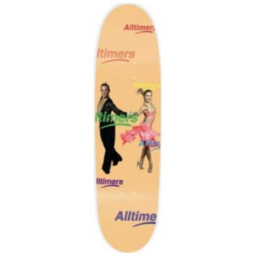Alltimers ChaCha Cruiser Skateboard Deck - 8.5""