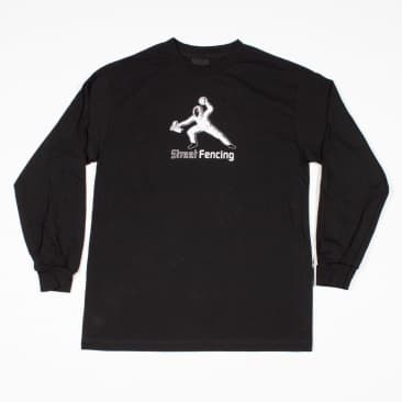 Orwellian World Landscape Street Shooter L/S T-Shirt - Black