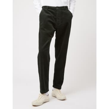 Universal Works Military Chino (Corduroy) - Forest Green