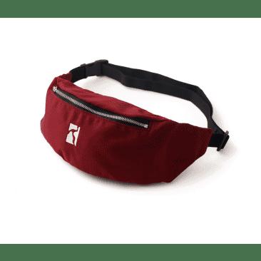 Poetic Collective Belt Bag Maroon