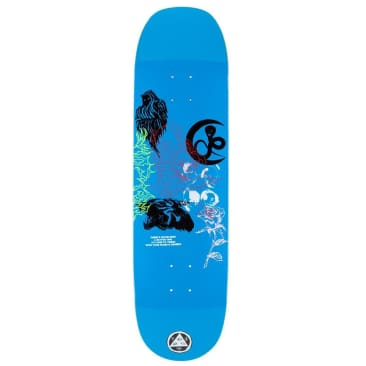 """Welcome Deck - Flash on Moontrimmer 2.0 - Blue 8.6"""""""