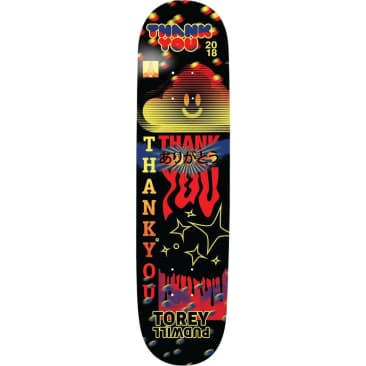 """Thank You - Torey Pudwill Fly Deck (8.25"""")"""