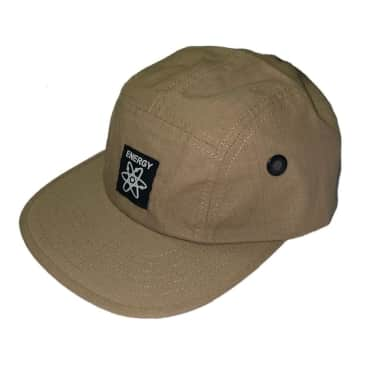 Energy Skate Shop OG Logo 5-Panel Hat (Tan)