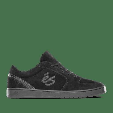 éS EOS Skate Shoes - Black / Black