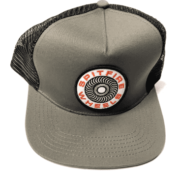 Spitfire 87 Swirl Trucker Hat Grey
