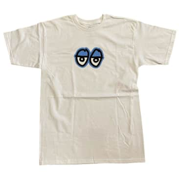 Krooked Tee Eyes White Blue