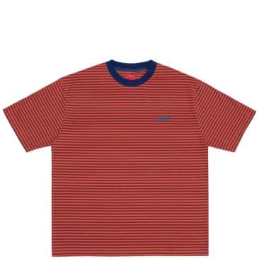 WKND Stripe T-Shirt - Orange / Green