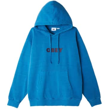 OBEY Bold Ideals Sustainable Hood - Blue Beat