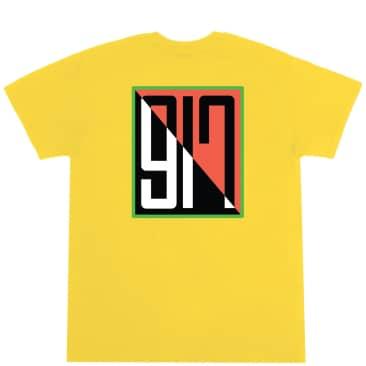 Call Me 917 Split T-Shirt - Yellow