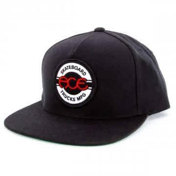 Ace - Seal 5 Panel Hat Black