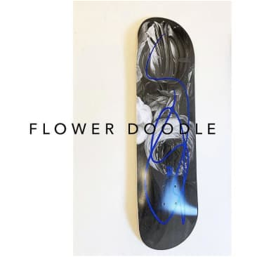 Poetic Collective Flower Doodle deck