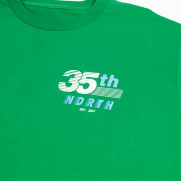 35th North Racer T-Shirt - Green / Teal