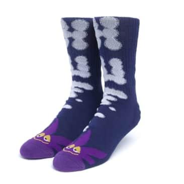 HUF - HUF N Puff Buddy Socks   Purple