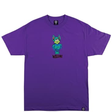 Welcome Skateboards Shame T-Shirt - Purple