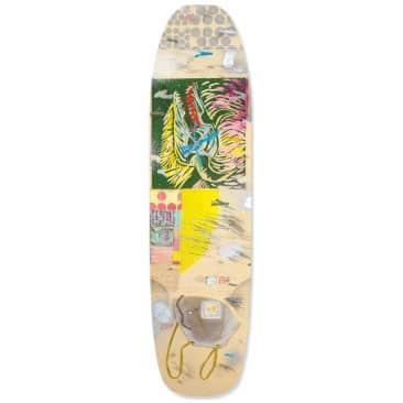 "UMA Landsleds Bovo Covo Shaped Skateboard Deck - 8.5"""