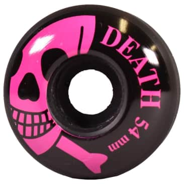 Death OG Skull Wheels Black/Pink - 54mm