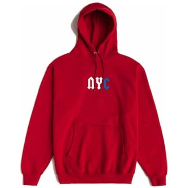 Chrystie NYC Logo Hoodie - Red