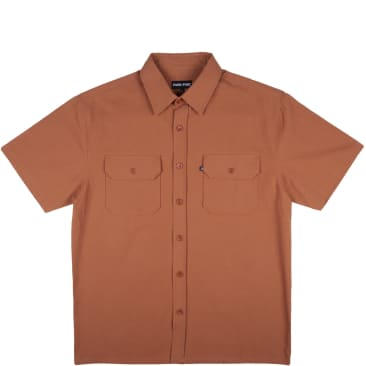 Pass~Port Workers Shirt - Rust