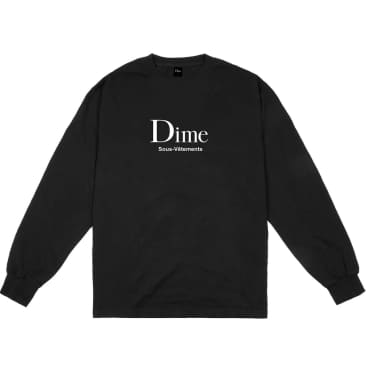 Dime - Sous-Vetements Long Sleeve - Black
