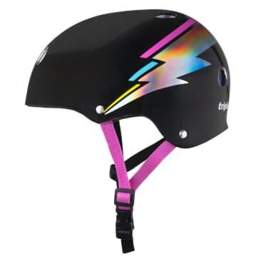 Triple Eight Certified Sweatsaver Helmet (Black Hologram)