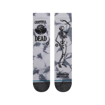 Good Old Grateful Dead Grey Socks