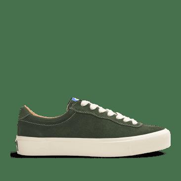 Last Resort AB VM001 Suede Lo Skate Shoes - Olive / White
