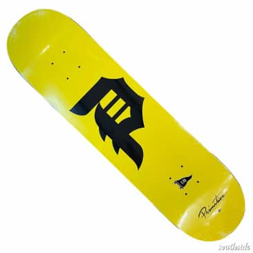 Primitive Deck Dirty P Yellow 7.75x31.1