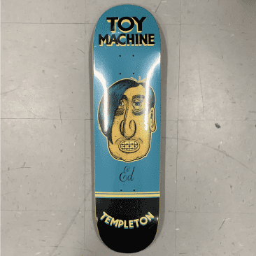Toy Machine Skateboards Templeton Pen N Ink Deck 8.5