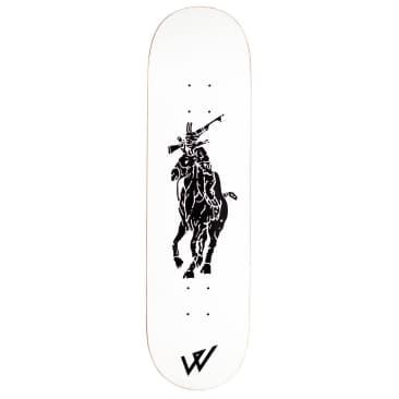 """Wayward """"WOLO WHITE"""" Skateboard Deck 8.5"""""""