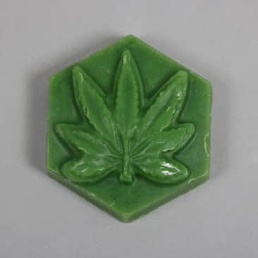 Ganj Wax 'Raspberry Scent' Small Wax (Raspberry Scent)