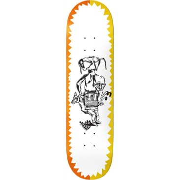 Baker Herman Day Dreams Skateboard Deck 8""