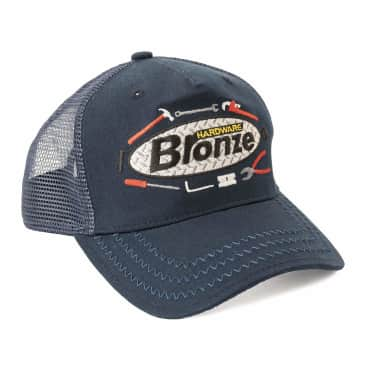 Bronze 56k Tool Time Trucker Hat - Navy