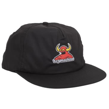 Monster Unstructured Cap (Black)