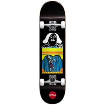 Almost Puppet Master First Push BLACK 8.125 Skateboard Complete