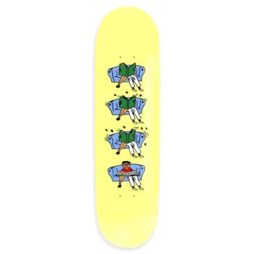 Pass~Port Skateboards - Pass~Port What U Thought Legs Skateboard Deck Yellow | 8.125""