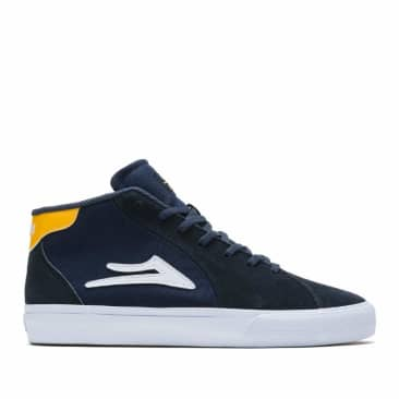 Lakai Flaco 2 Mid Suede Skate Shoes - Navy