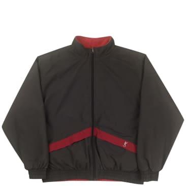 Yardsale Nightshift Reversible Fleece - Red / Charcoal