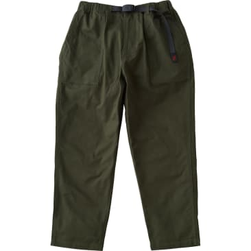 Gramicci Back Satin Loose Tapered Pants - Deep Olive