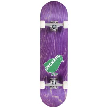 Orchard Green Bird Logo Hybrid Complete 7.8 Purple (With Free Skate Tool)
