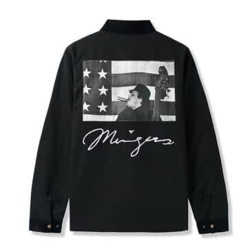 Butter Goods x Charles Mingus Scenes In The City Jacket (Black)