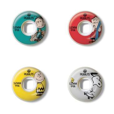Element Skateboards - 52mm Peanuts Squad Skateboard Wheels