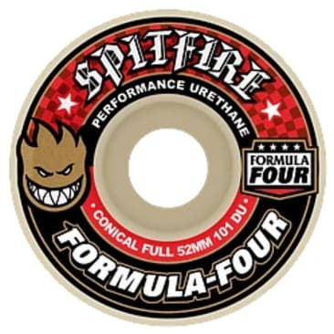 Spitfire F4 101 Conical Full Skateboard Wheels